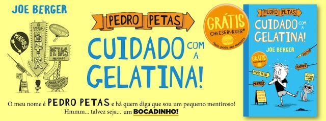 Sinfonia dos Livros: Novidade Booksmile   Pedro Petas: Cuidado com a Ge...