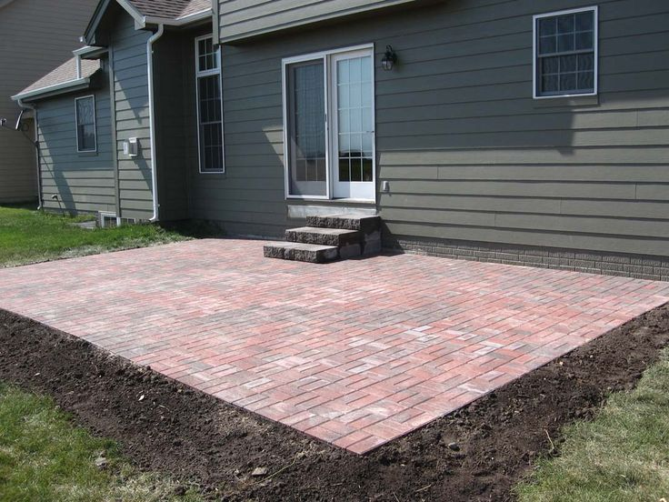 92 best images about paver patios on pinterest paver for Paver patio ideas pictures