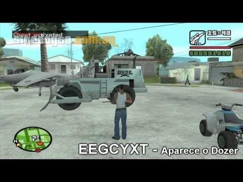 Códigos de aparecer carros no GTA San Andreas - YouTube