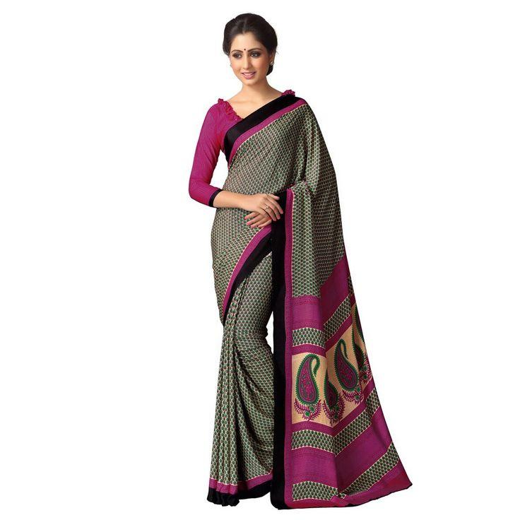 Kastoori Silk Multicolour Printed Saree - Sd103 at Rs 790