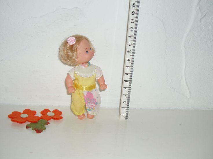 Barbie Baby Shelly Nostalgie Puppenkind 12 cm Antik 70er DDR Puppenstube TOP Zu.