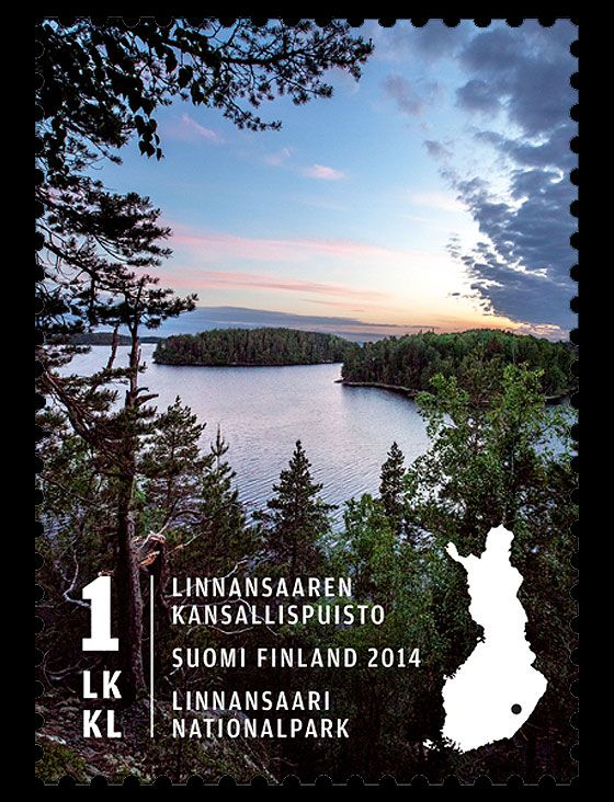 Linnansaari National Park is Issued by Finland Post! #stamps #Finland http://wopa-stamps.com/index.php?controller=country&action=stampRelatedIssue&id=12738