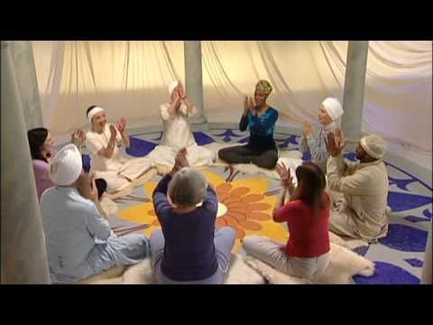 Meditation in movement. A meditation that uses a mantra and movement to quiet the mind. Because you have to focus in order to be able to do the movements in order, it is even easier to keep the mind from wandering.