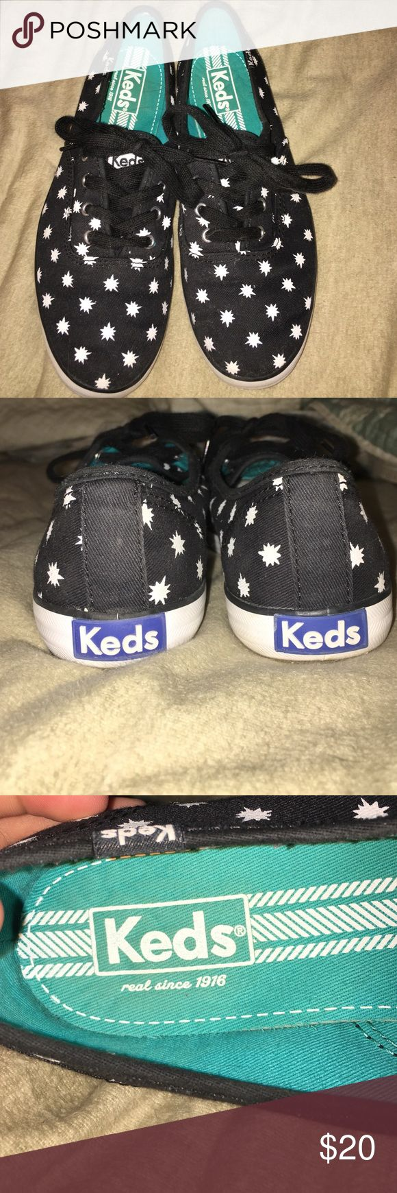 Keds sneaker Black keds sneakers with starlight design Keds  Shoes Sneakers
