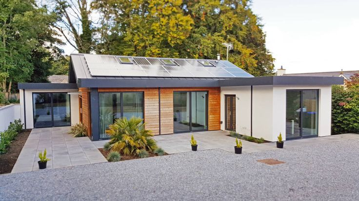 A house that takes a look at environmental solutions is…