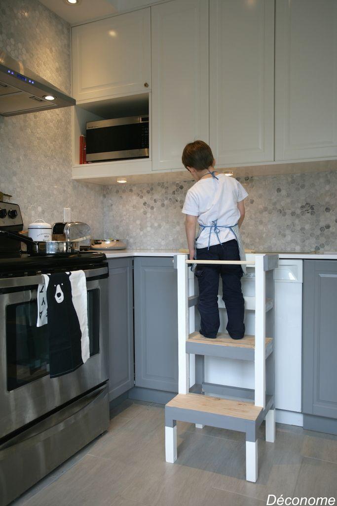 Les 96 meilleures images propos de diy vissermalin les - Fabriquer une cuisine enfant ...