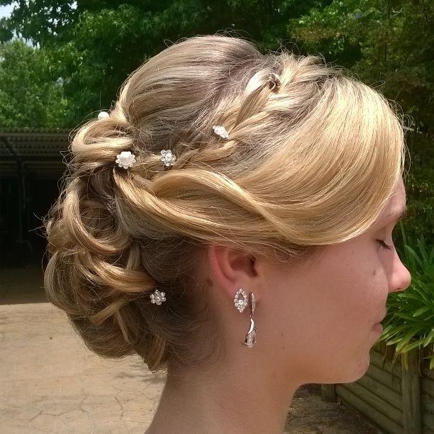 Beautiful Kate formal or wedding hair.