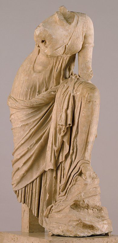 The Tiber Muse                         Artist Unknown (Graeco-Roman)       (Italy, Europe), 2nd-1st century B.C.                                    Marble