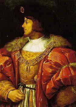 Luis II de Hungría - asesinado por los turcos del imperio otomano en la batalla de Mohács el 29 de agosto de 1526