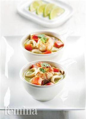 Sup Seafood Hijau Femina