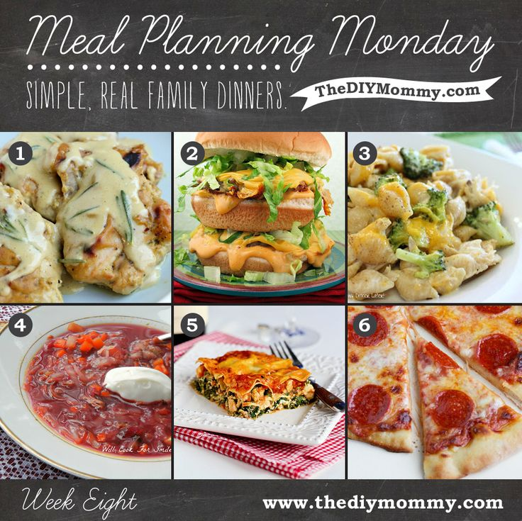 Meal Planning Monday: Week 8 – Simple, Real Family Dinners