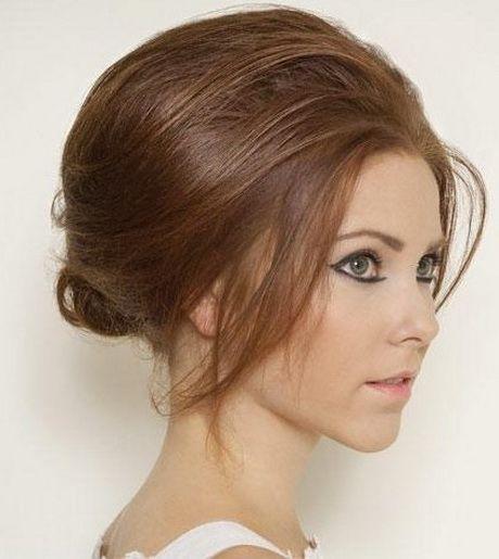 peinados para cabello corto noche