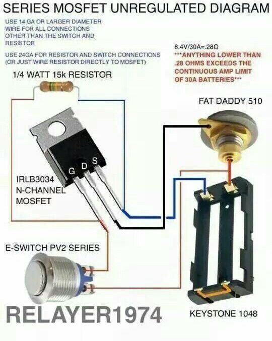 84c4f54700f2f95d6a32cffd2153f24b vaping mods info 15 best diy mod images on pinterest diy box mod, vaping mods and Heat Bed MOS FET Wiring-Diagram at eliteediting.co