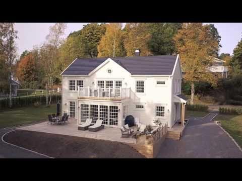 Villa Ängsö - ett 2-planshus från Myresjöhus - YouTube