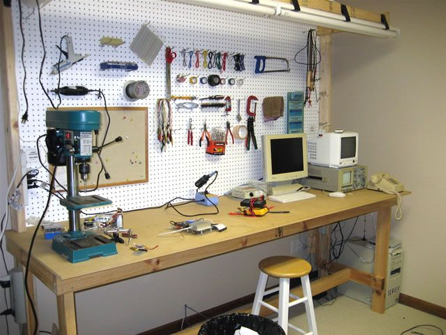 best electronics workbench plans - Google Search