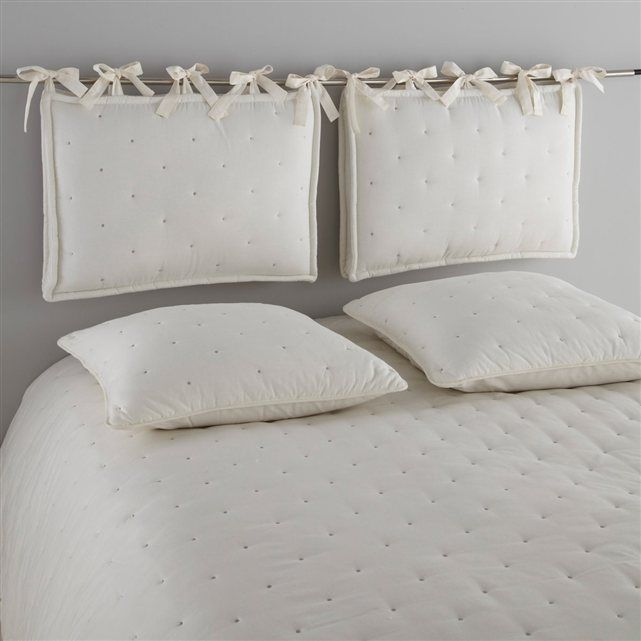 17 best tete de lit images on pinterest bed diy headboards and ideas - Tete de lit matelassee ...