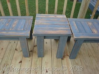 It seems like it's been forever since I cleaned out the garage and tidied up my lumber storage. I had many of these 2×4's left after making my lumber storage benches, so I decided to make some easy 2×4 benches. I made some years ago that were a little different from Jamie's old deck wood. …