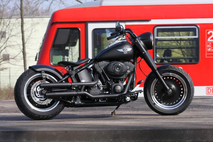 Thunderbike Bad Boy 103 (customized Harley-Davidson Fat Boy)
