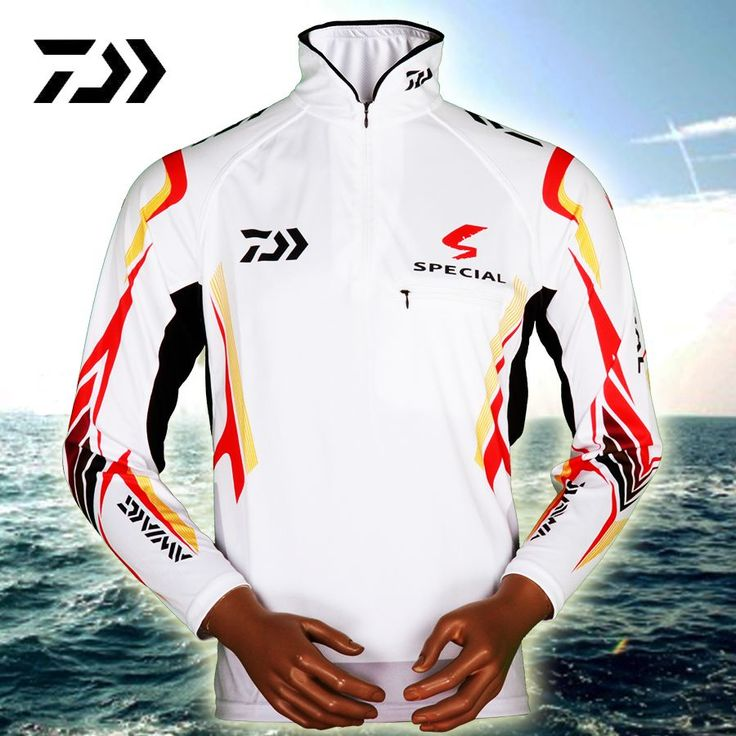 Free shipping Top-quality DAIWA men fishing clothes breathable summer UV protection men shirts short sleeve Ropa de pesca #Affiliate