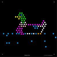 Lite Brite Refill: Little Kids (SQUARE)
