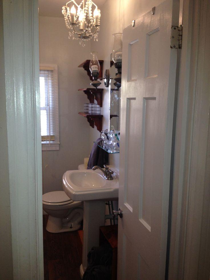1000 images about le petit spa the finished diy bathroom for Diy bathroom demolition