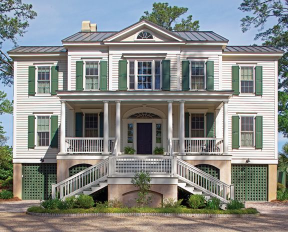 57 best style southern vernacular images on pinterest for Historical concepts architects