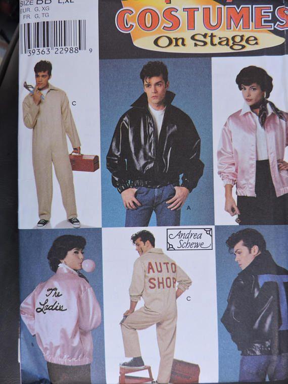 Grease Movie Thunderbirds Jacket Pink Ladies Jacket Auto Shop