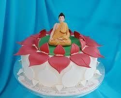 Buddhist Birthday Cake