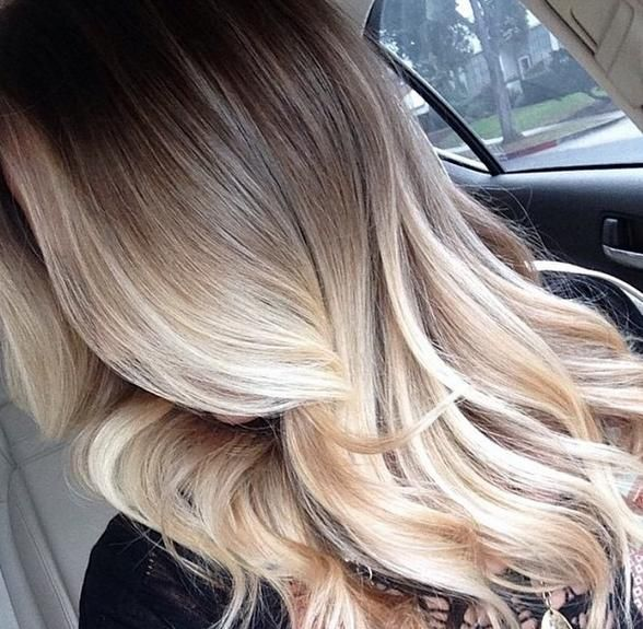 17917 best hairstyles for long hair images on pinterest - Ombre hair braun ...