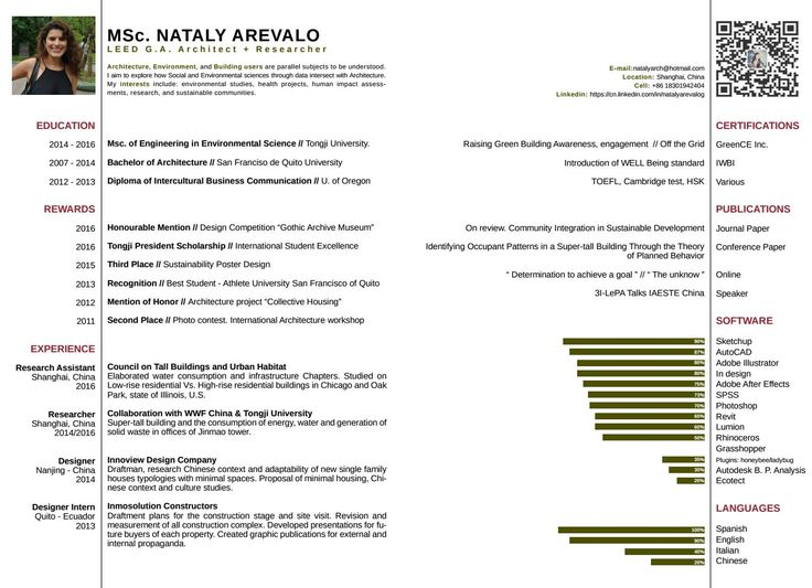 Best  Resume Architecture Ideas On   Resume Ideas
