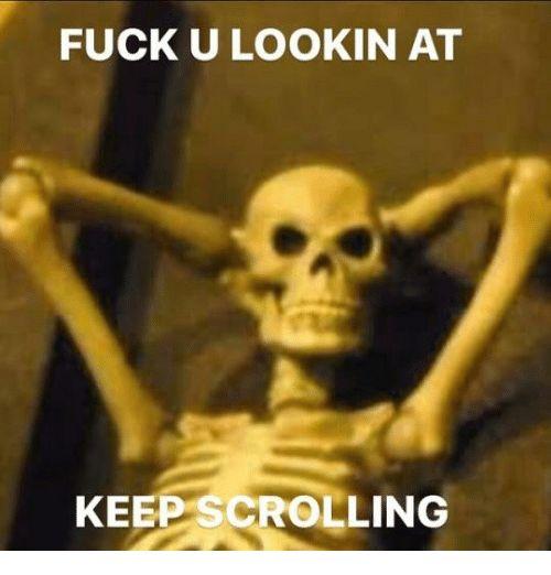 Yes sir mister skeleton sir