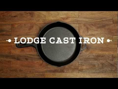 A CAST IRON PAN or SKILLET is on my list of essential things to have in the kitchen. Truly the best non-stick pan if seasoned regularly. Plus, they can last over 100 years if taken care of! • Rust? No problem at all; watch this quick, catchy video to solve the problem.  How to Restore Cast Iron - by cast iron manufacturer Lodge. #Kitchen #essentials