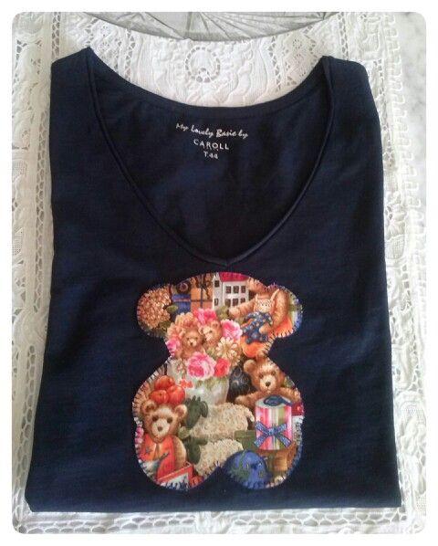 Mis camisetas de patchwork con aplicaciones on Pinterest ...