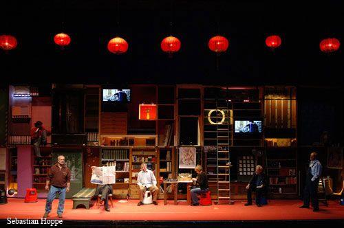 """""""Karl Marx Das Kapital Erster Band"""" by #Rimini #Protokoll. #Theatre. VIE Scena Contemporanea Festival 2007"""