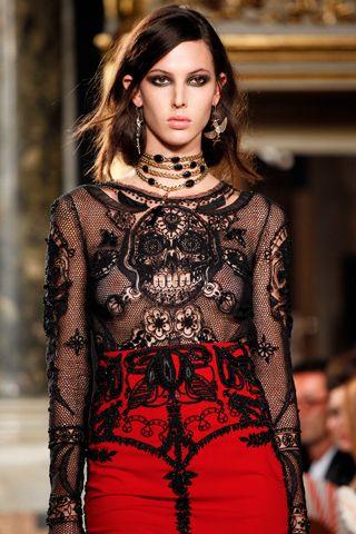 #EmilioPucci #spring 2012 #lace