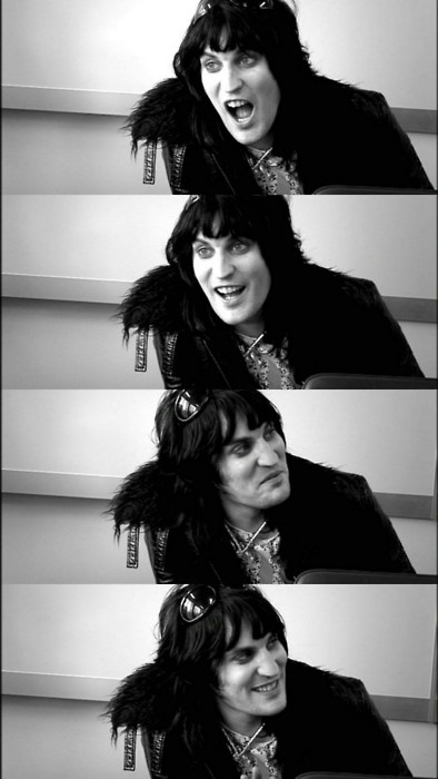 The many faces of...  Noel Fielding
