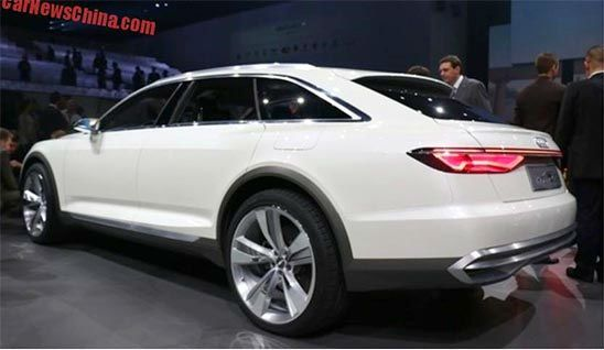 2018 Audi Allroad is the featured model. The Audi Allroad 2018 image is added in car pictures category by the author on Jul 6, 2017.