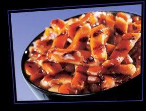 Panda Express Copycat Recipes: Mandarin Chicken (substitution for 1 tablespoon (15 grams) arrowroot = 1 tablespoon (15 grams) cornstarch, potato starch or rice starch OR 2 tablespoons (25 grams) all purpose flour