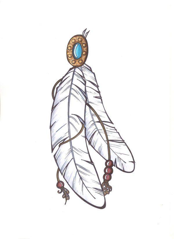 одним индейское перо картинка хочу пожелать