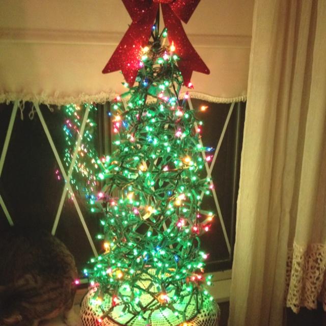 Cat friendly Christmas tree! | Holiday | Pinterest