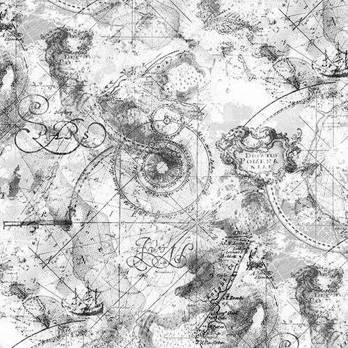 Imaginary map by Stefan Jans