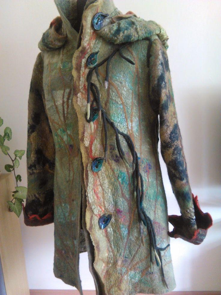Filcowanki i nie tylko #polandhandmade #felting #clothing