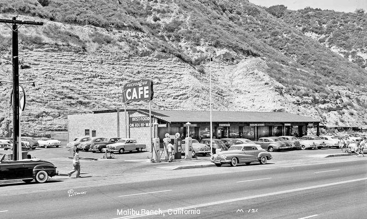 Pacific Coast Highway Anchor Inn Cafe Malibu California