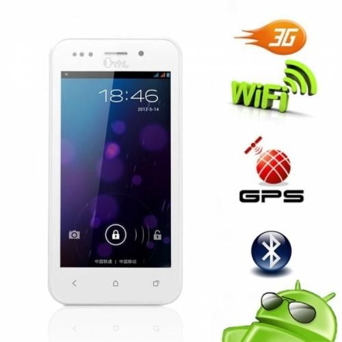 4.0 Dual SIM Unlocked White Phone Buying a cost-effective and useful cell phone is a big challenge these days. Here's a great Android that can fit your needs. It features durable electronic components, advanced technology, high-definition screen (for great visual experience), and a tactile keypad...