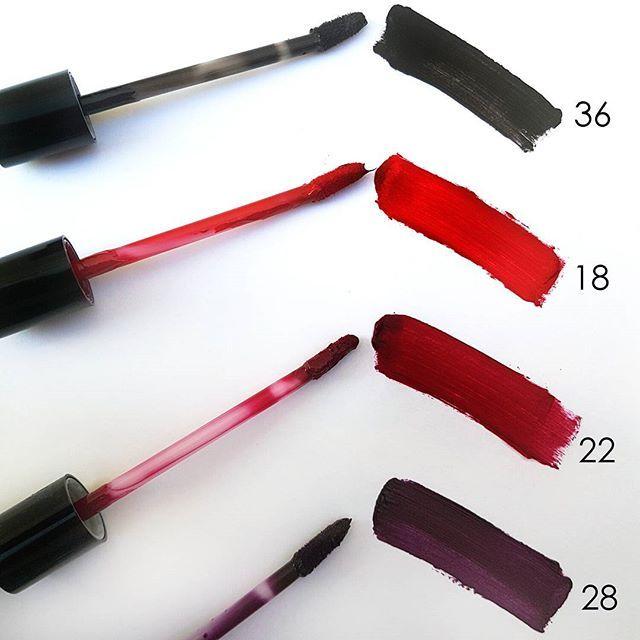 Our favorite best seller Matt Lasting Lipsticks in sexy winter shades will attract all eyes on you!  #mattlastinglipstick #mattlipstick #lipstick #sexylips #darklipstick #blacklipstick