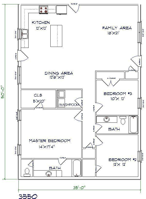 Best Barndominium Floor Plans Various Type Size Picture Pole Barn House