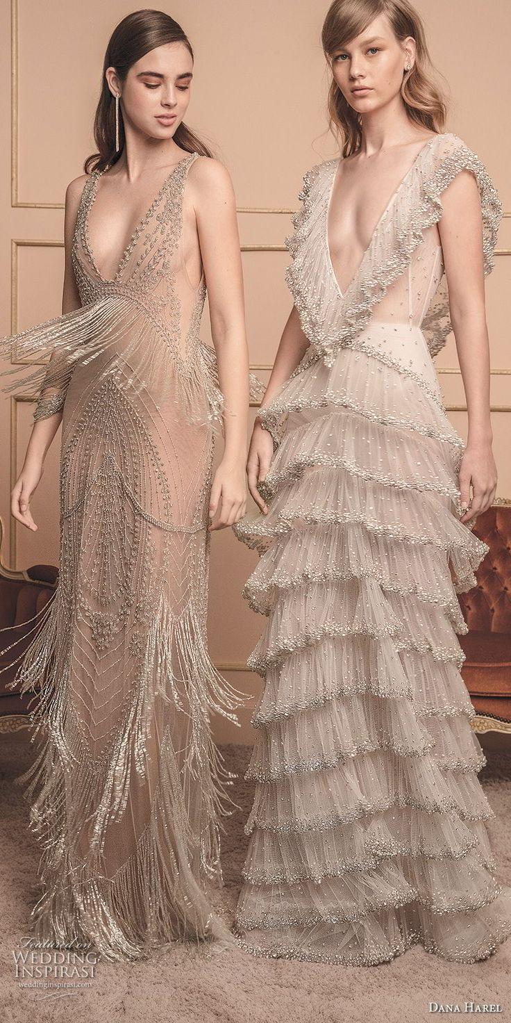 dana harel 2018 bridal romantic wedding gowns 3 — Dana Harel 2018 Wedding Dress…
