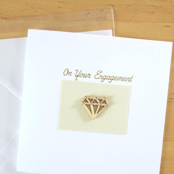 Check out this item in my Etsy shop https://www.etsy.com/uk/listing/521708260/engagement-card-diamond-card