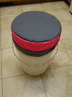 5 Gallon Bucket Seat Cushion tutorial - for YW camp or Pioneer Trek