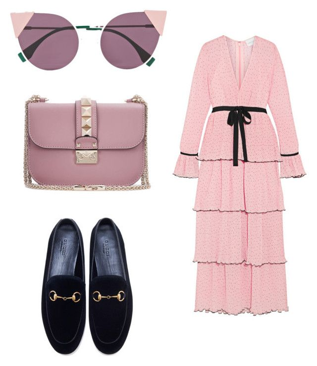 """Untitled #139"" by dariatamasan on Polyvore featuring Alice McCall, Gucci, Valentino and Fendi"